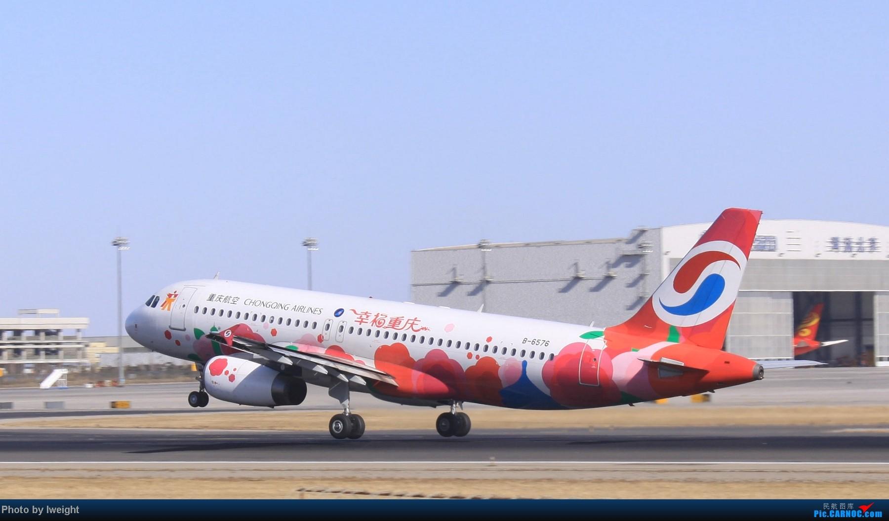 Re:[原创]春节期间首都机场拍机汇报 AIRBUS A320-200 B-6576 中国北京首都机场