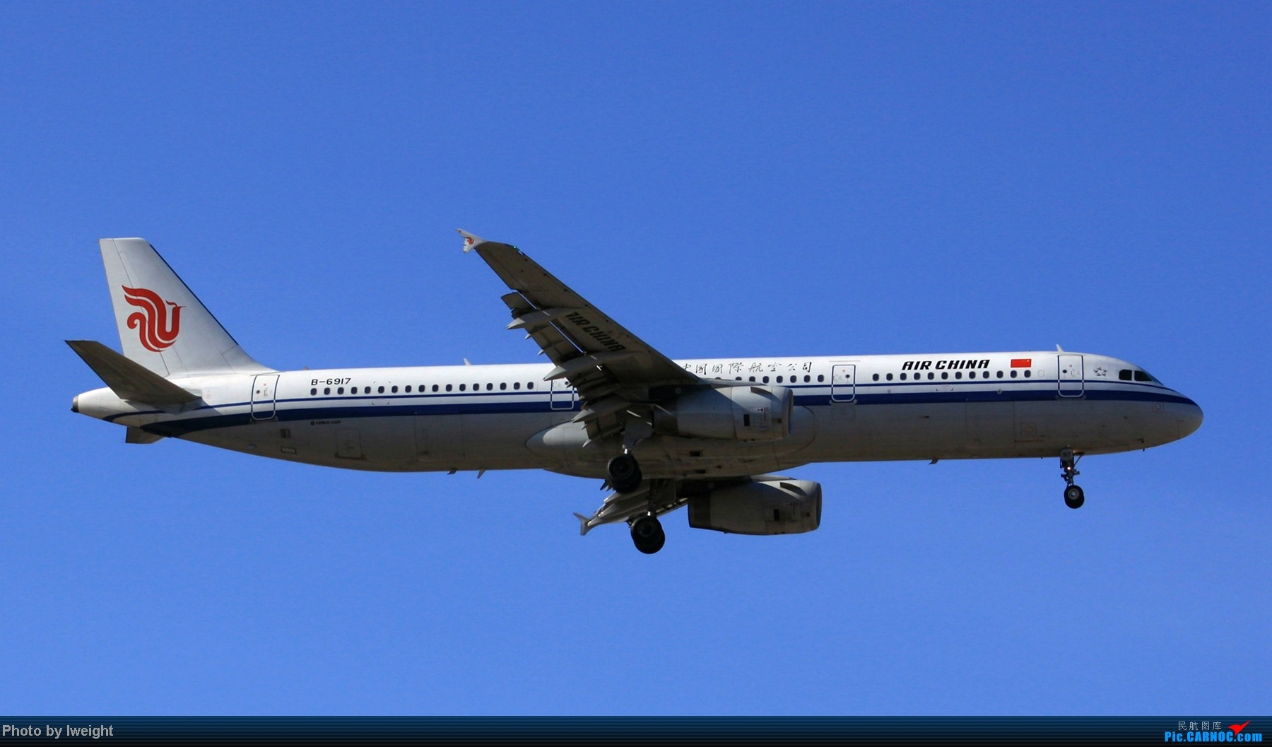 Re:[原创]春节期间首都机场拍机汇报 AIRBUS A321-200 B-6917 中国北京首都机场
