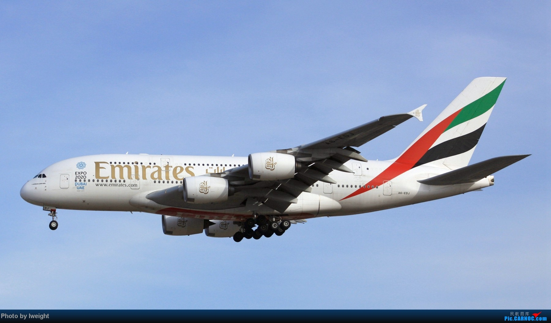 Re:[原创]春节期间首都机场拍机汇报 AIRBUS A380 A6-EDJ 中国北京首都机场