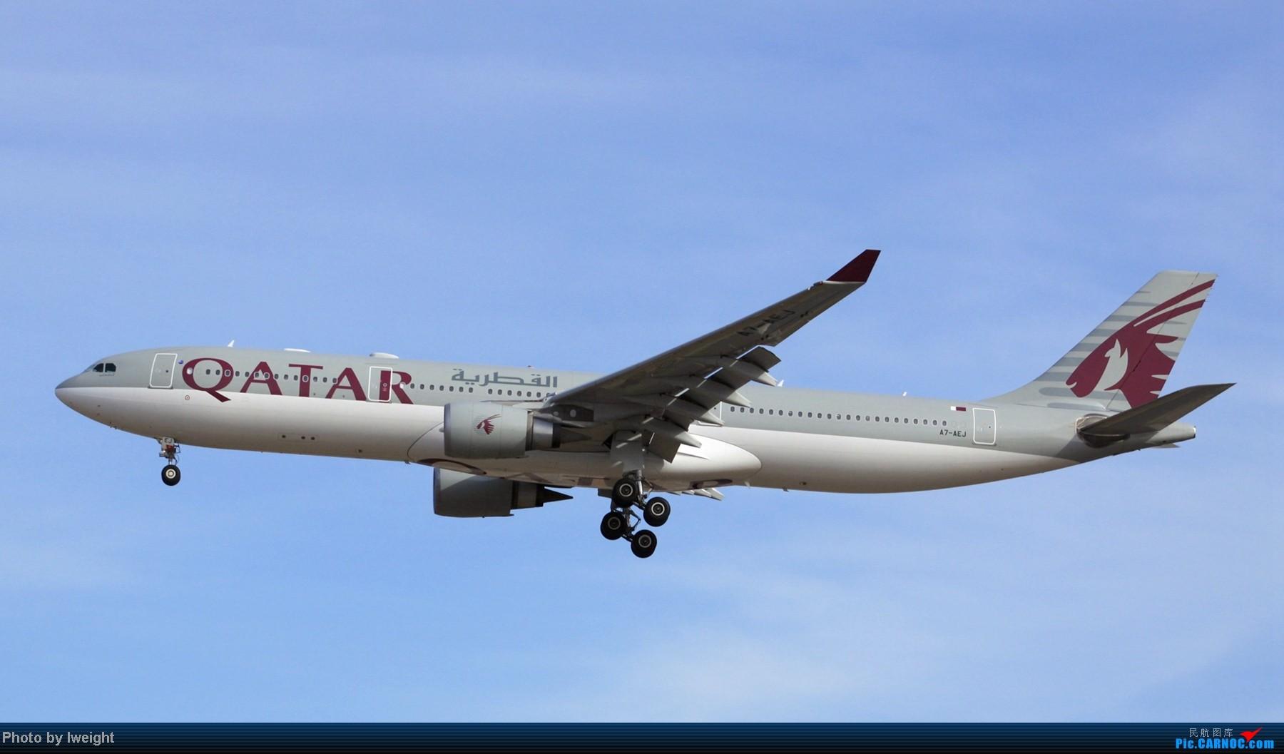 Re:[原创]春节期间首都机场拍机汇报 AIRBUS A330-300 A7-AEJ 中国北京首都机场