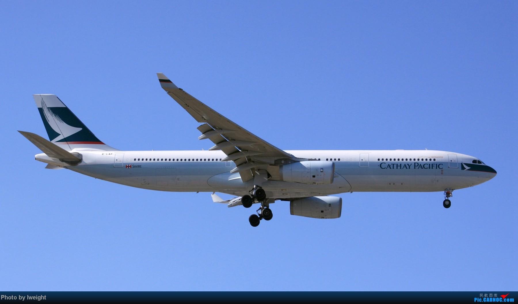 Re:[原创]春节期间首都机场拍机汇报 AIRBUS A330-300 B-LAP 中国北京首都机场