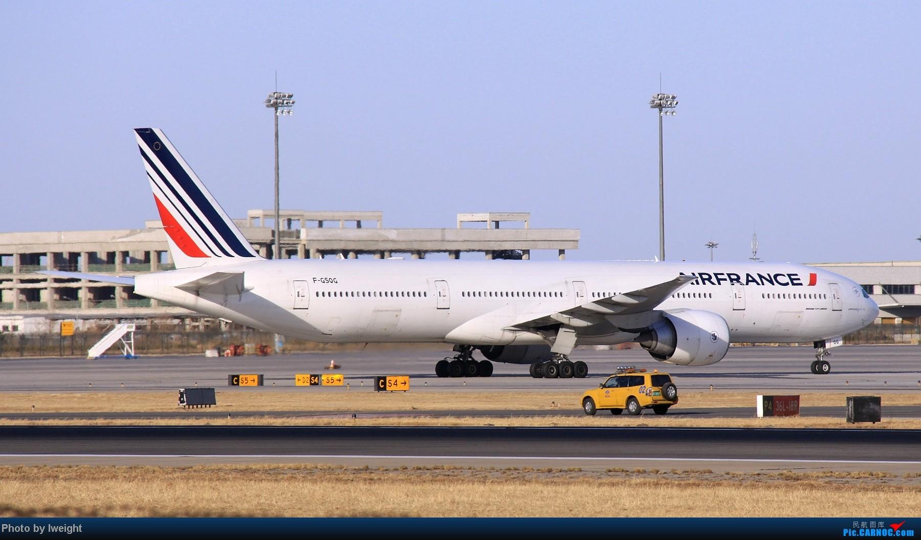 Re:[原创]春节期间首都机场拍机汇报 BOEING 777-300 F-GSQG 中国北京首都机场