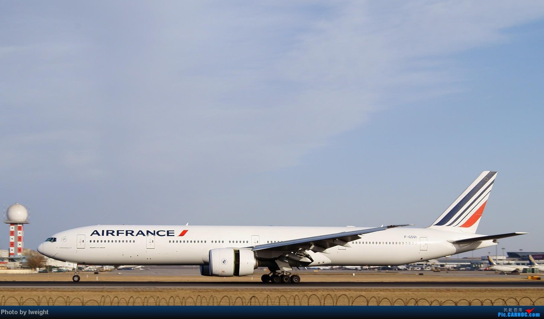 Re:[原创]春节期间首都机场拍机汇报 BOEING 777-300 F-GSQI 中国北京首都机场