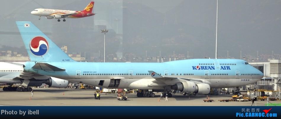 Re:[原创]【牙刷游记之七】SIN-HKG-CTU,国泰+港龙带我回国与家人共度2014马年春节!(有奖猜飞机,祝飞友们马到功成!) BOEING 747-4B5 HL7489 HKG