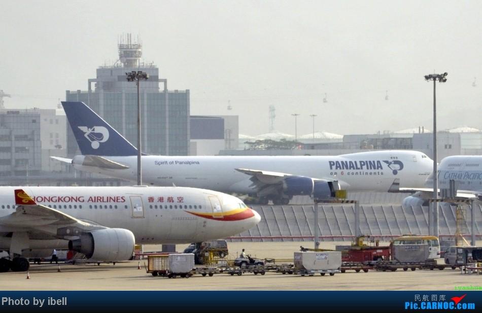 Re:[原创]【牙刷游记之七】SIN-HKG-CTU,国泰+港龙带我回国与家人共度2014马年春节!(有奖猜飞机,祝飞友们马到功成!) BOEING 747-8F  HKG