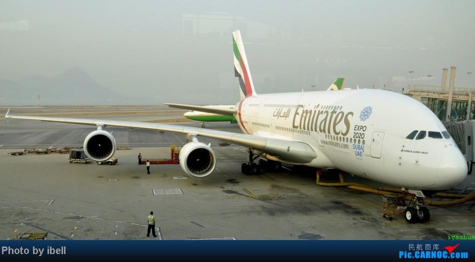 Re:[原创]【牙刷游记之七】SIN-HKG-CTU,国泰+港龙带我回国与家人共度2014马年春节!(有奖猜飞机,祝飞友们马到功成!) AIRBUS A380-861 A6-EEE HKG