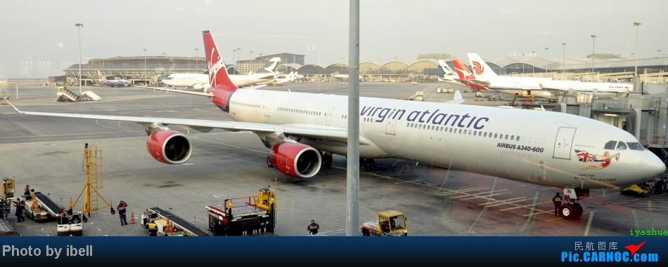 Re:[原创]【牙刷游记之七】SIN-HKG-CTU,国泰+港龙带我回国与家人共度2014马年春节!(有奖猜飞机,祝飞友们马到功成!) AIRBUS A340-642 G-VWIN HKG