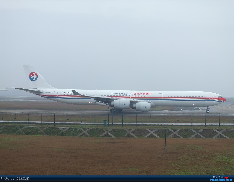 Re:[原创]CKG春运第四辑之精彩的CKG(红蓝凤凰,天合装777,紫宸号,海航二十周年737,共计16班宽体齐聚重庆) AIRBUS A340-600 B-6052 重庆江北国际机场