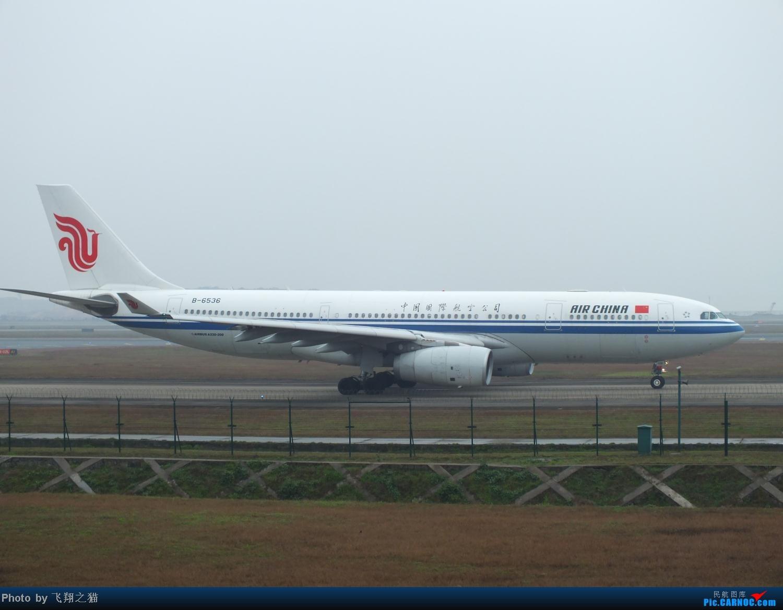 Re:[原创]CKG春运第四辑之精彩的CKG(红蓝凤凰,天合装777,紫宸号,海航二十周年737,共计16班宽体齐聚重庆) AIRBUS A330-200 B-6536 重庆江北国际机场