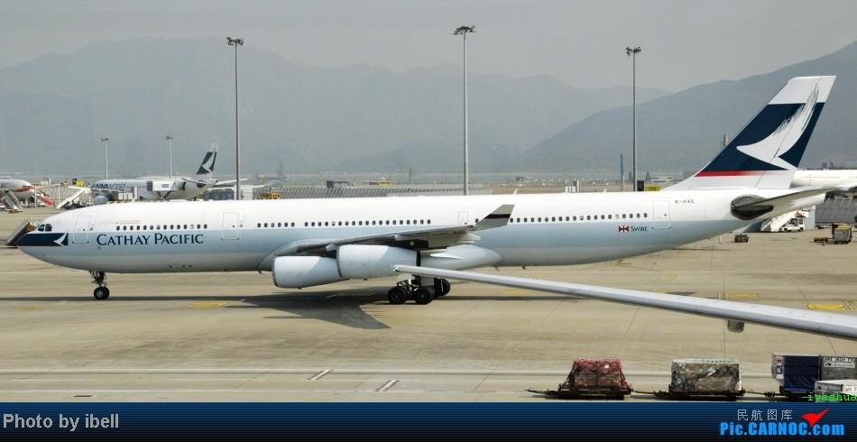 Re:[原创]【牙刷游记之七】SIN-HKG-CTU,国泰+港龙带我回国与家人共度2014马年春节!(有奖猜飞机,祝飞友们马到功成!) AIRBUS A340-300 B-HXE 中国香港赤鱲角机场