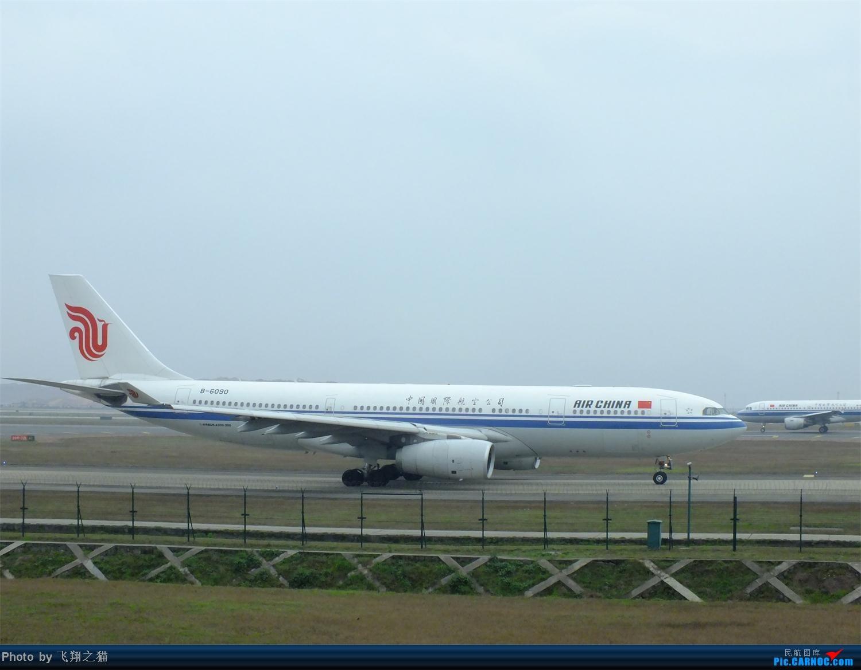 Re:[原创]CKG春运第四辑之精彩的CKG(红蓝凤凰,天合装777,紫宸号,海航二十周年737,共计16班宽体齐聚重庆) AIRBUS A330-200 B-6090 重庆江北国际机场