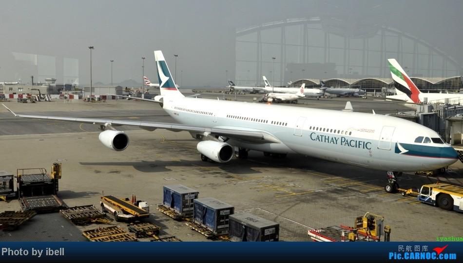Re:[原创]【牙刷游记之七】SIN-HKG-CTU,国泰+港龙带我回国与家人共度2014马年春节!(有奖猜飞机,祝飞友们马到功成!) AIRBUS A340-300 B-HXA 中国香港赤鱲角机场