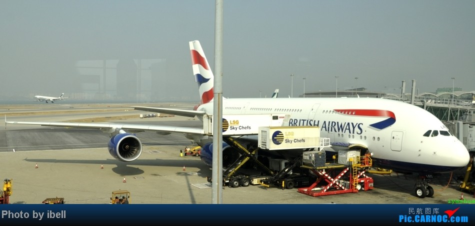 Re:[原创]【牙刷游记之七】SIN-HKG-CTU,国泰+港龙带我回国与家人共度2014马年春节!(有奖猜飞机,祝飞友们马到功成!) AIRBUS A380-841 G-XLEC 中国香港赤鱲角机场