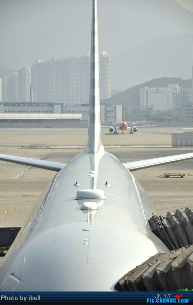 Re:[原创]【牙刷游记之七】SIN-HKG-CTU,国泰+港龙带我回国与家人共度2014马年春节!(有奖猜飞机,祝飞友们马到功成!) AIRBUS A330-300 B-HLU 中国香港赤鱲角机场 中国香港赤鱲角机场