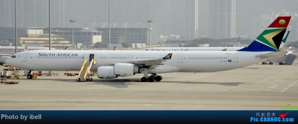 Re:[原创]【牙刷游记之七】SIN-HKG-CTU,国泰+港龙带我回国与家人共度2014马年春节!(有奖猜飞机,祝飞友们马到功成!) AIRBUS A340-642 ZS-SNF HKG