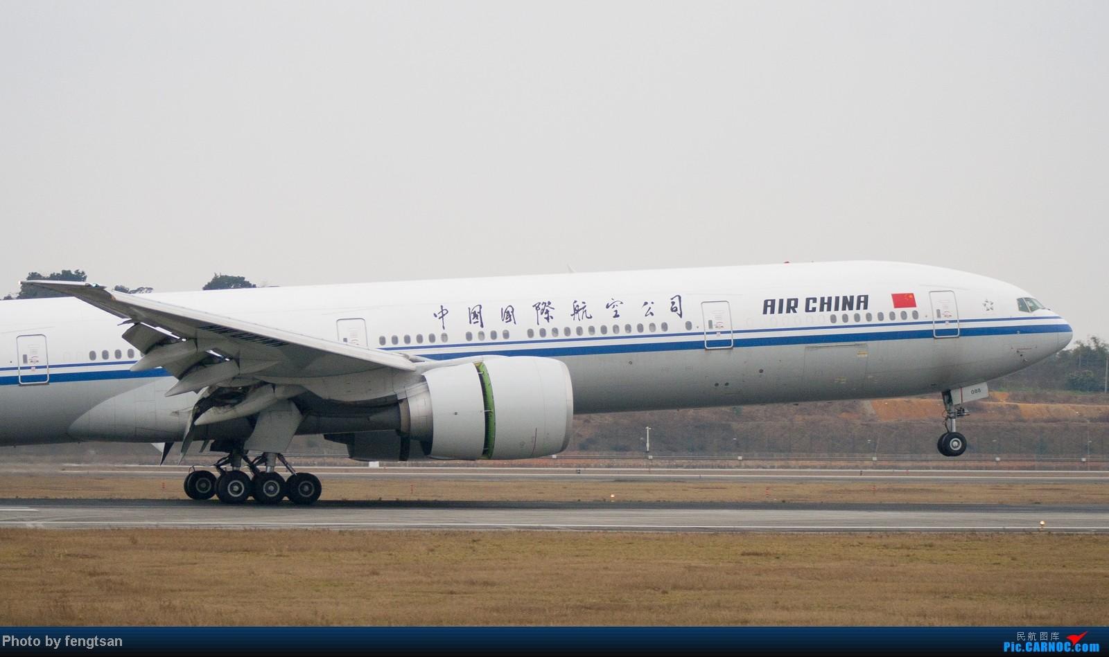 Re:[原创]【CCFA成都空港缘分】大年十五发正月初七的CTU,只有大家伙 BOEING 777-300ER B-2088 中国成都双流机场