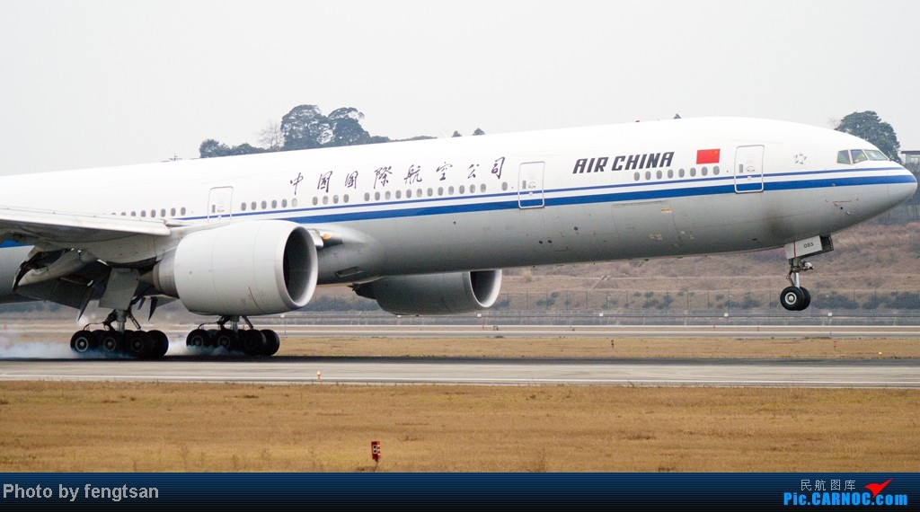 Re:[原创]【CCFA成都空港缘分】大年十五发正月初七的CTU,只有大家伙 BOEING 777-300ER B-2085 中国成都双流机场
