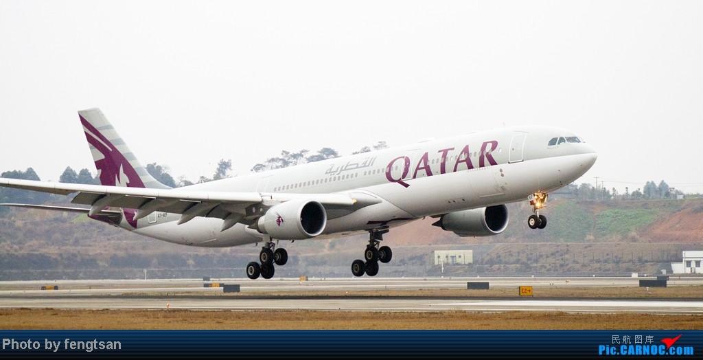Re:[原创]【CCFA成都空港缘分】大年十五发正月初七的CTU,只有大家伙 AIRBUS A330-200