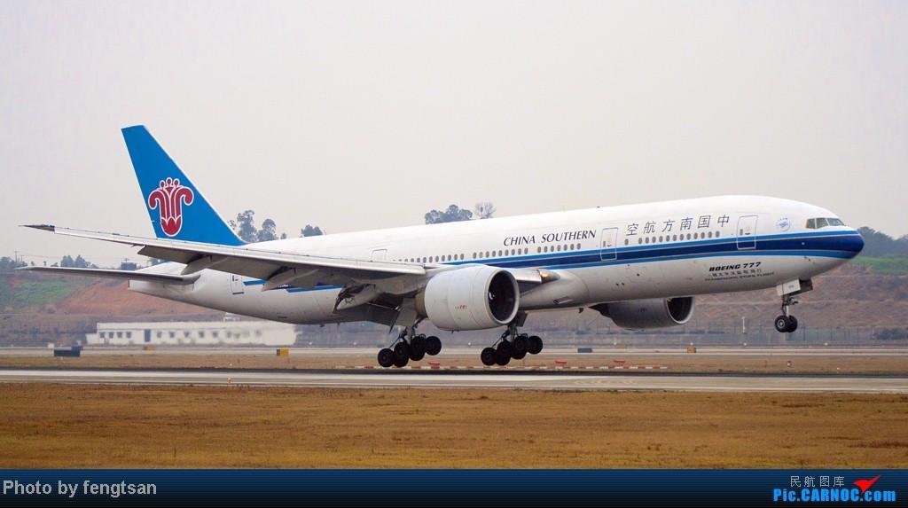 Re:[原创]【CCFA成都空港缘分】大年十五发正月初七的CTU,只有大家伙 BOEING 777-200