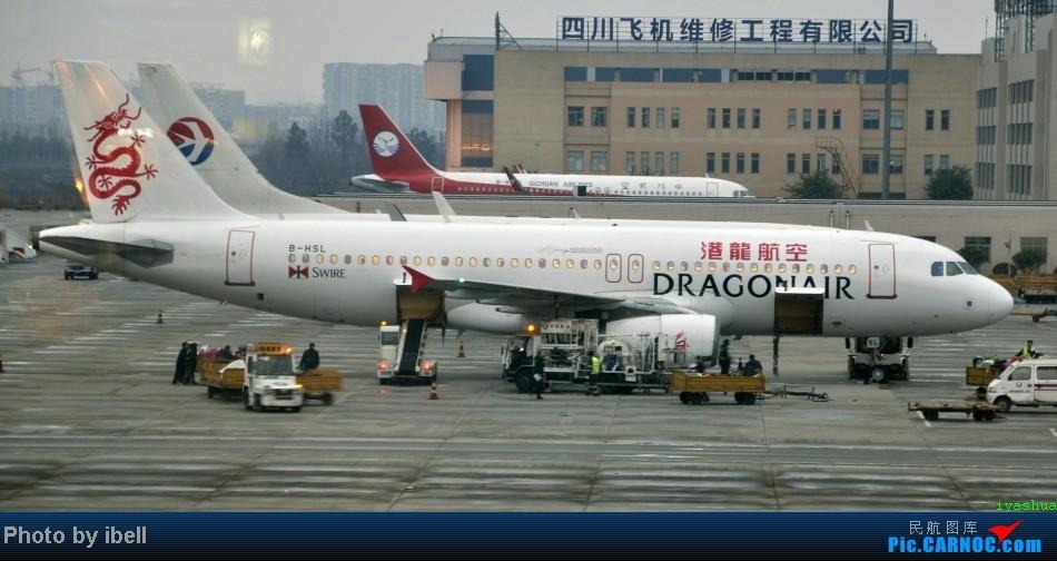 Re:[原创]【牙刷游记之八】CTU-HKG-SIN,首飞A343,内含斐济航空,埃塞俄比亚货运,飘零在南海上迷人的西沙群岛。。。 AIRBUS A320-200 B-HSL 中国成都双流机场