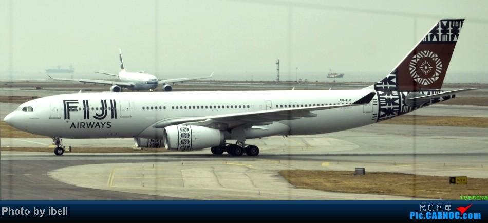 Re:[原创]【牙刷游记之八】CTU-HKG-SIN,首飞A343,内含斐济航空,埃塞俄比亚货运,飘零在南海上迷人的西沙群岛。。。 AIRBUS A330-243 DQ-FJT HKG