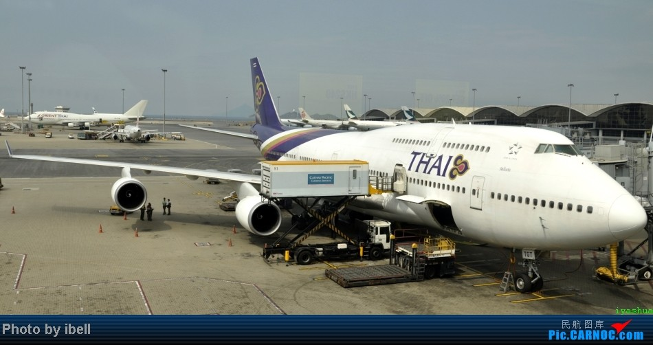 Re:[原创]【牙刷游记之八】CTU-HKG-SIN,首飞A343,内含斐济航空,埃塞俄比亚货运,飘零在南海上迷人的西沙群岛。。。 BOEING 747-4D7 HS-TGT HKG