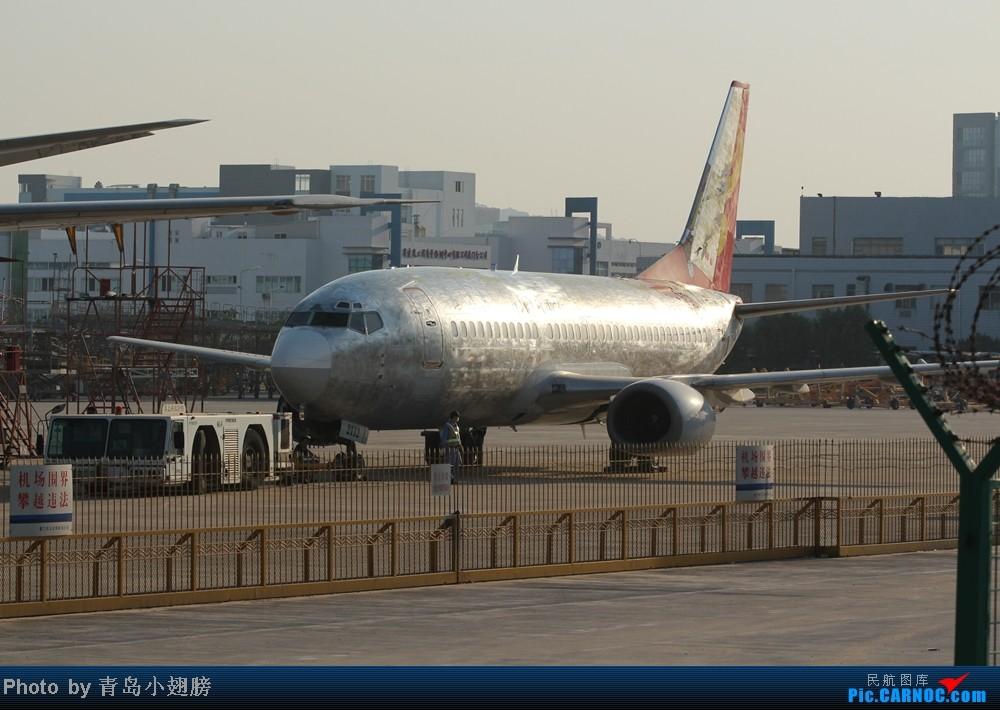 """[原创]【青岛飞友会】厦门机场DAY2之""""裸体机""""和拼图神器 BOEING 737-300 B-2112 中国厦门高崎机场"""