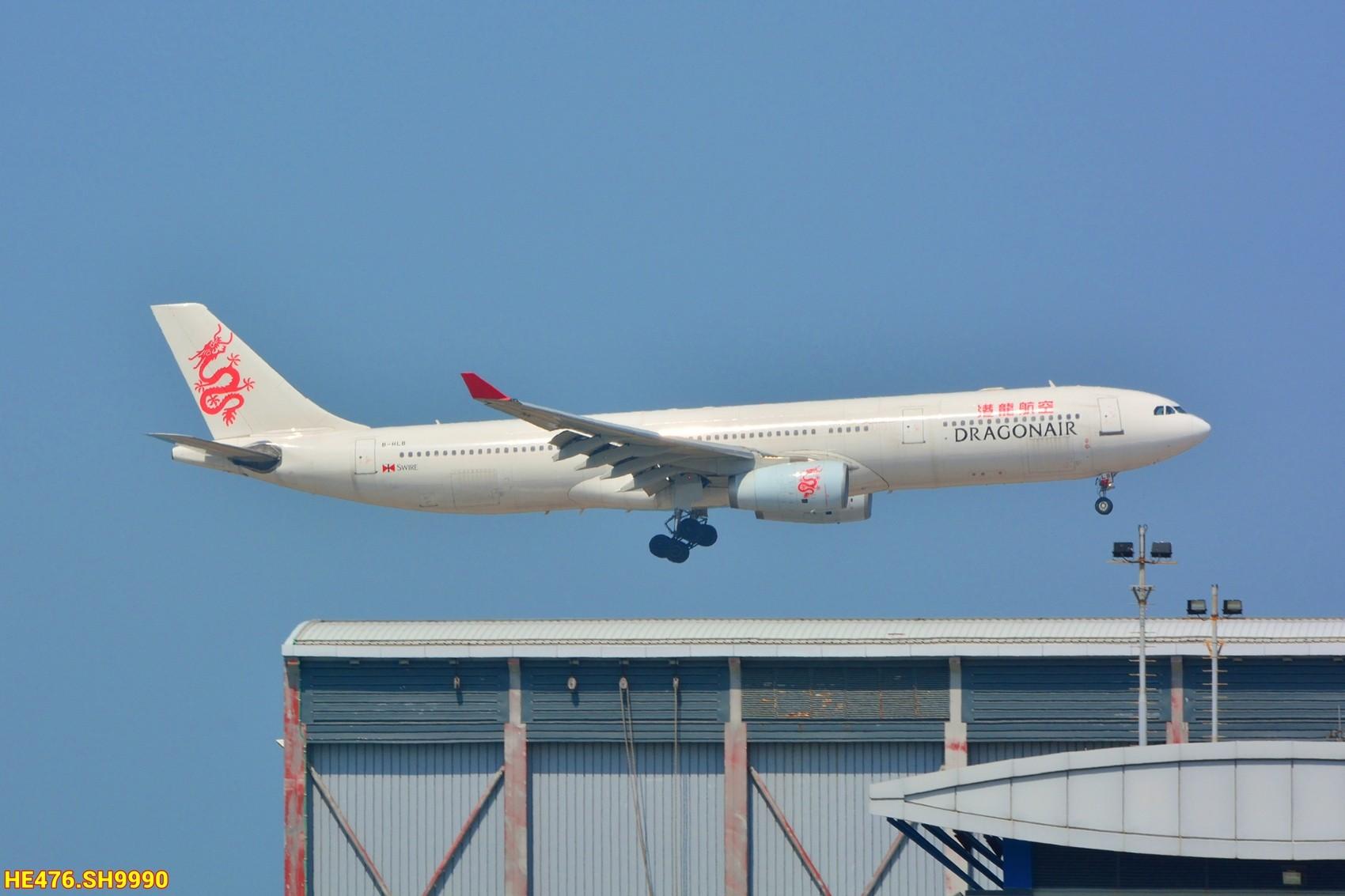 [原创]今天香港HAECO閒攝 AIRBUS A330-300 B-HLB 中国香港赤鱲角机场