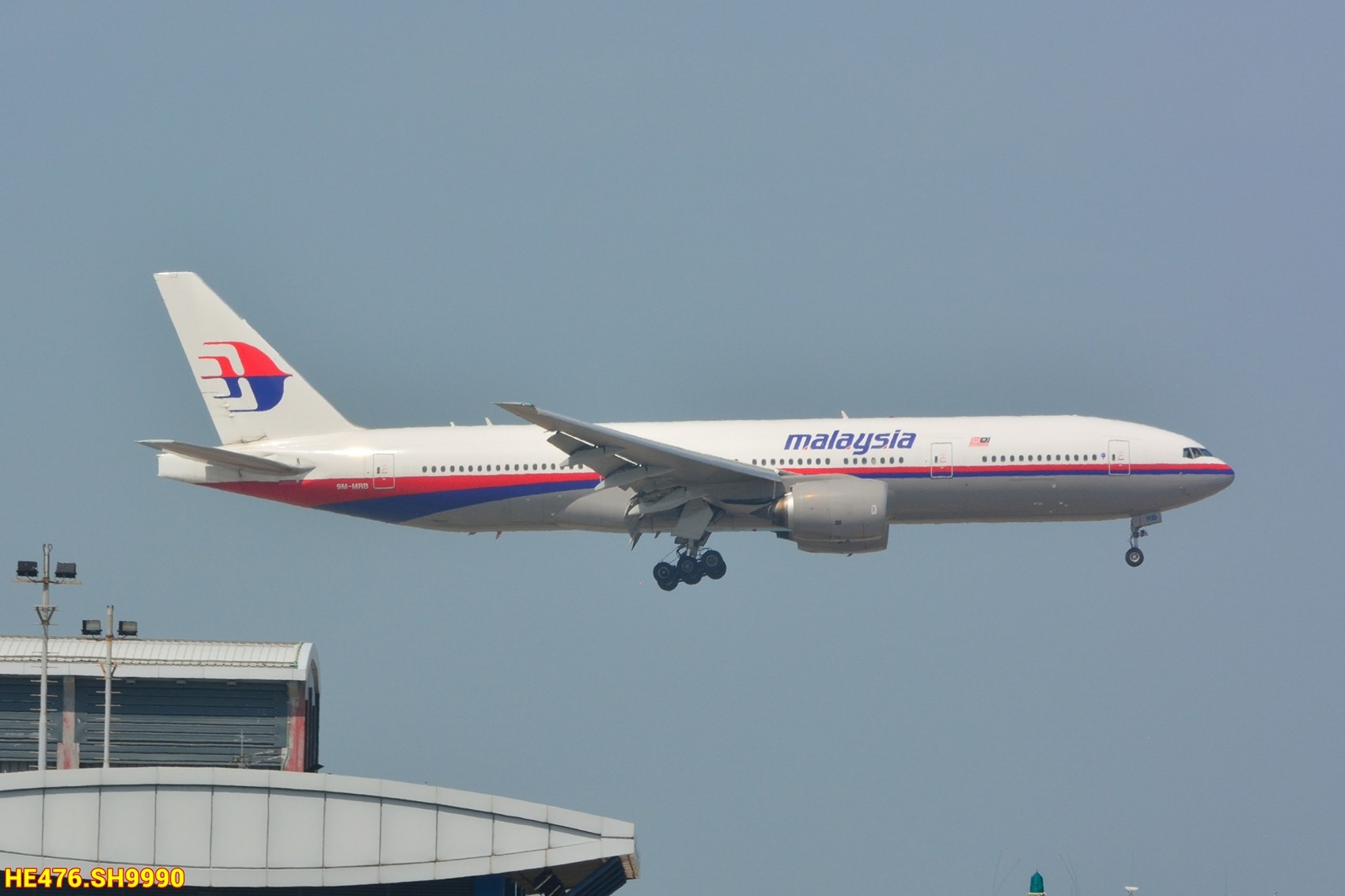 Re:[原创]今天香港HAECO閒攝 BOEING 777-200 9M-MRB 中国香港赤鱲角机场