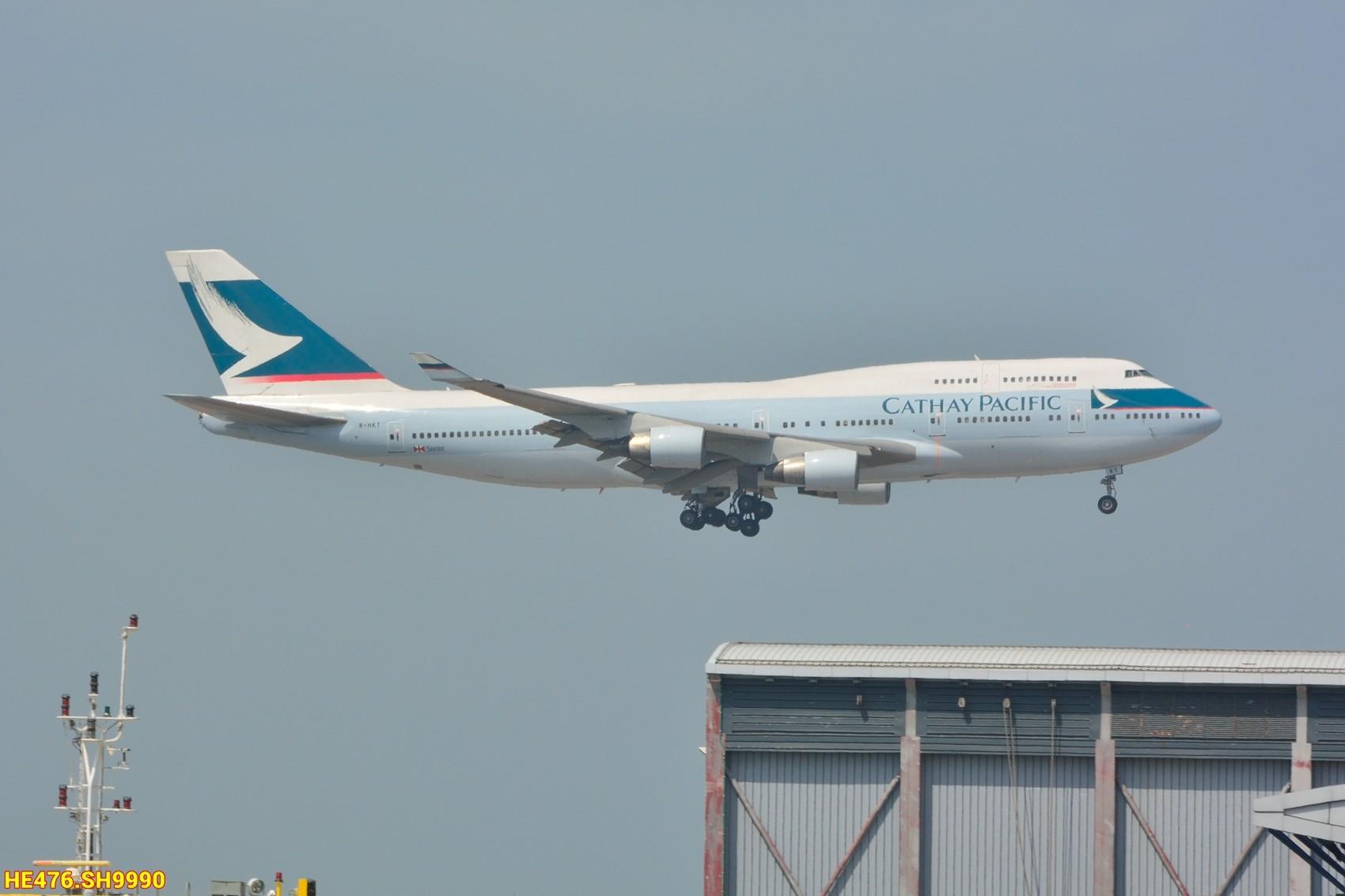 Re:[原创]今天香港HAECO閒攝 BOEING 747-400 B-HKT 中国香港赤鱲角机场