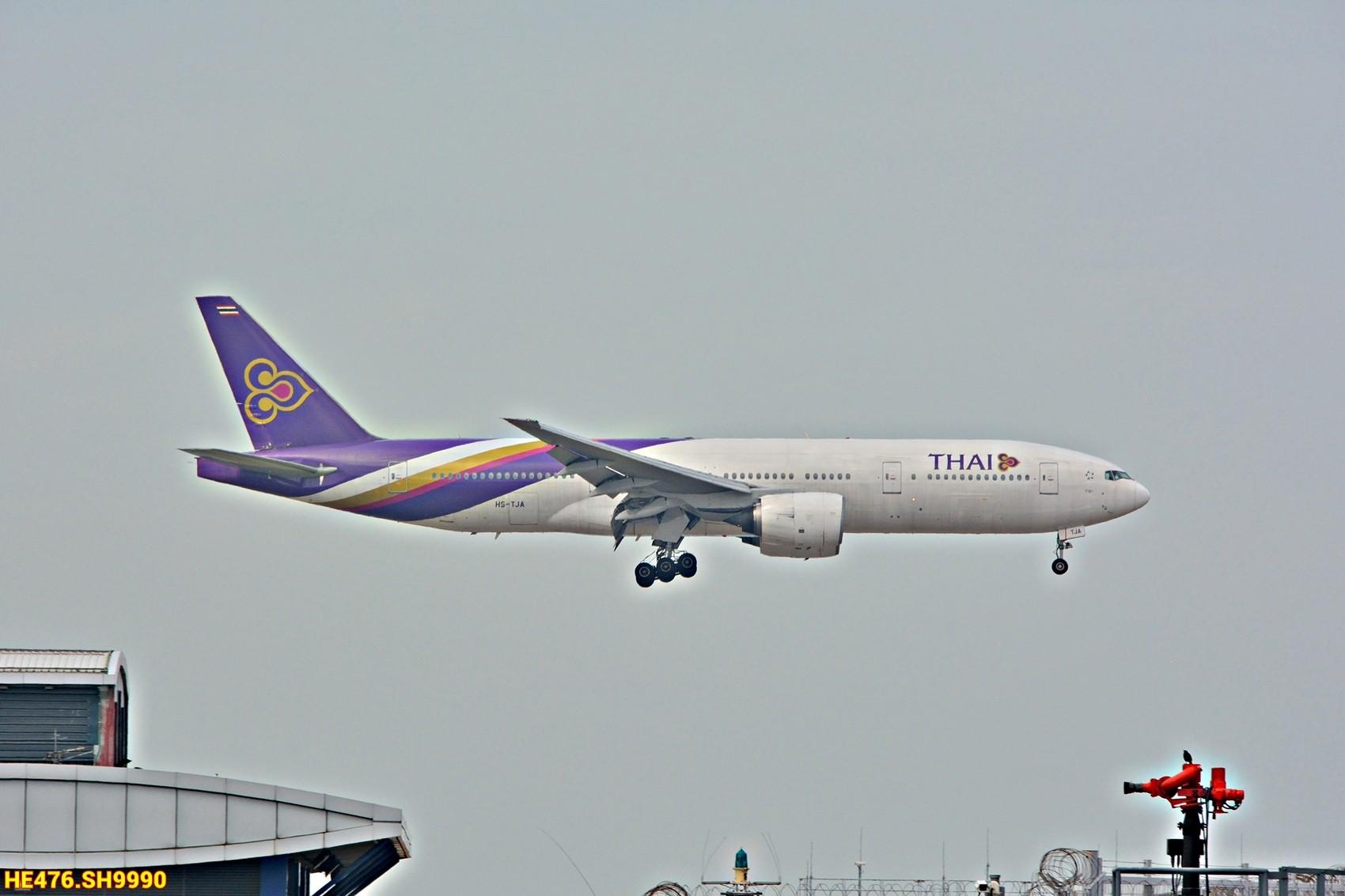 Re:今天香港HAECO閒攝 BOEING 777-200 HS-TJA 中国香港赤鱲角机场