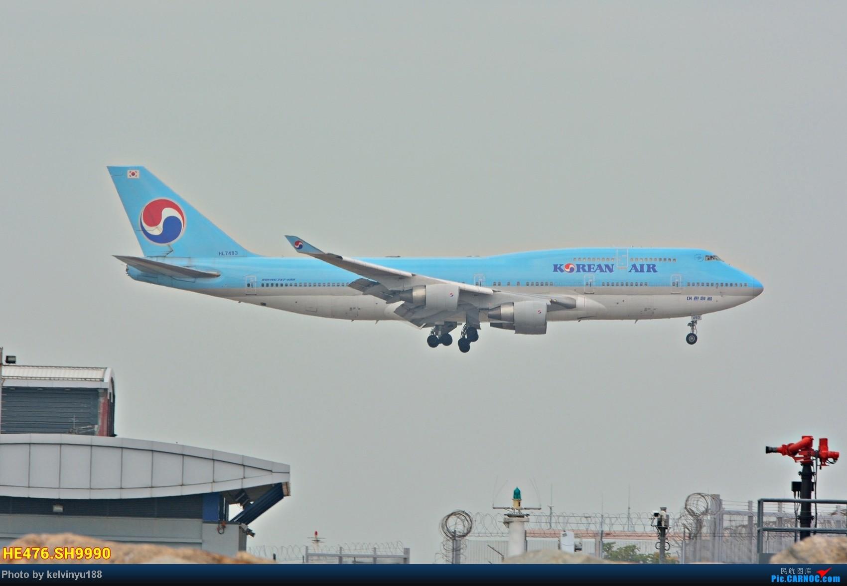 Re:[原创]今天香港HAECO閒攝 BOEING 747-400 HL7493 中国香港赤鱲角机场