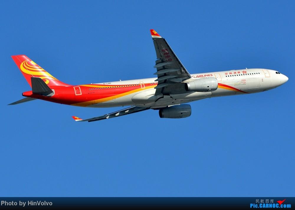 [原创]第一次做飛行報告。。 HX 236 HKG-PVG AIRBUS A330-300 B-LNP 中国香港赤鱲角机场