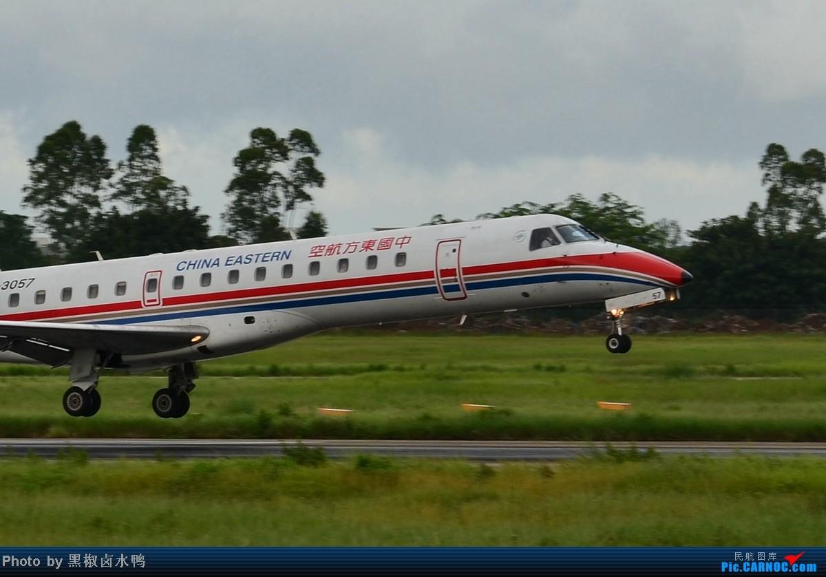 Re:[原创]【海南飞友会】这样的构图可好? EMBRAER ERJ-145 B-3057 中国海口美兰机场