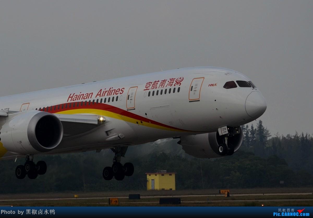 Re:[原创]【海南飞友会】这样的构图可好? BOEING 787-8 B-2731 中国海口美兰机场