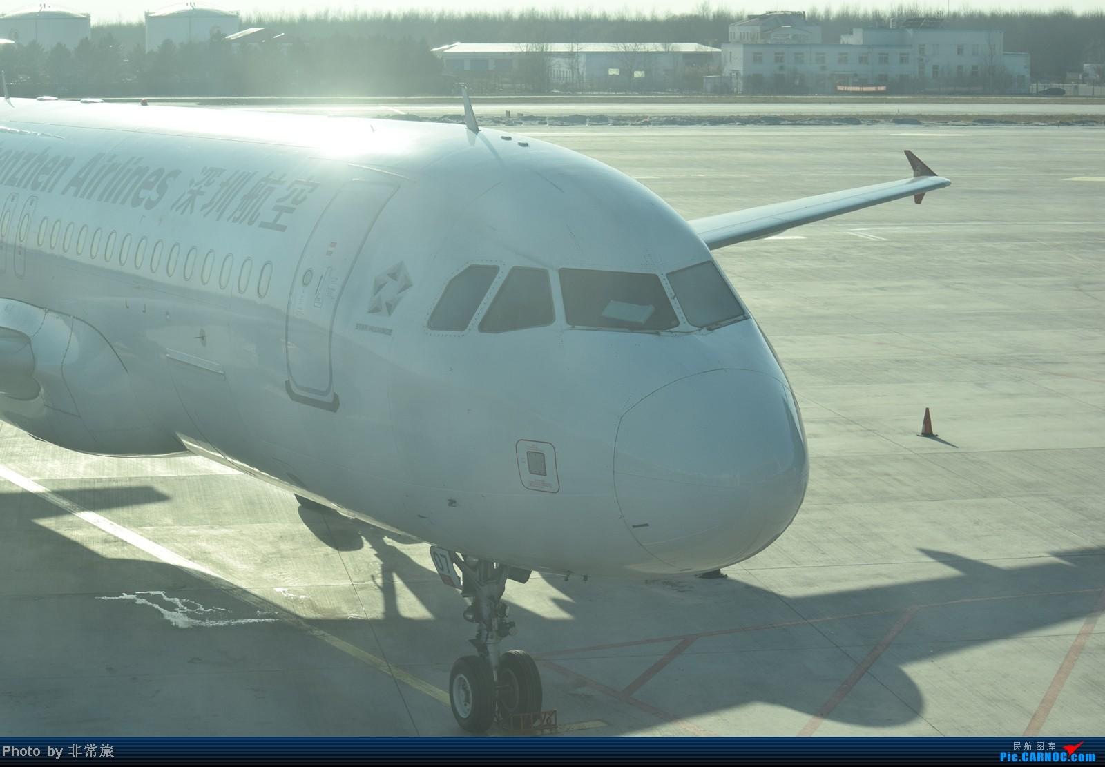 Re:[原创]大年三十除夕夜,三万英尺云霄间。 AIRBUS A320-200 B-6807 中国沈阳桃仙机场