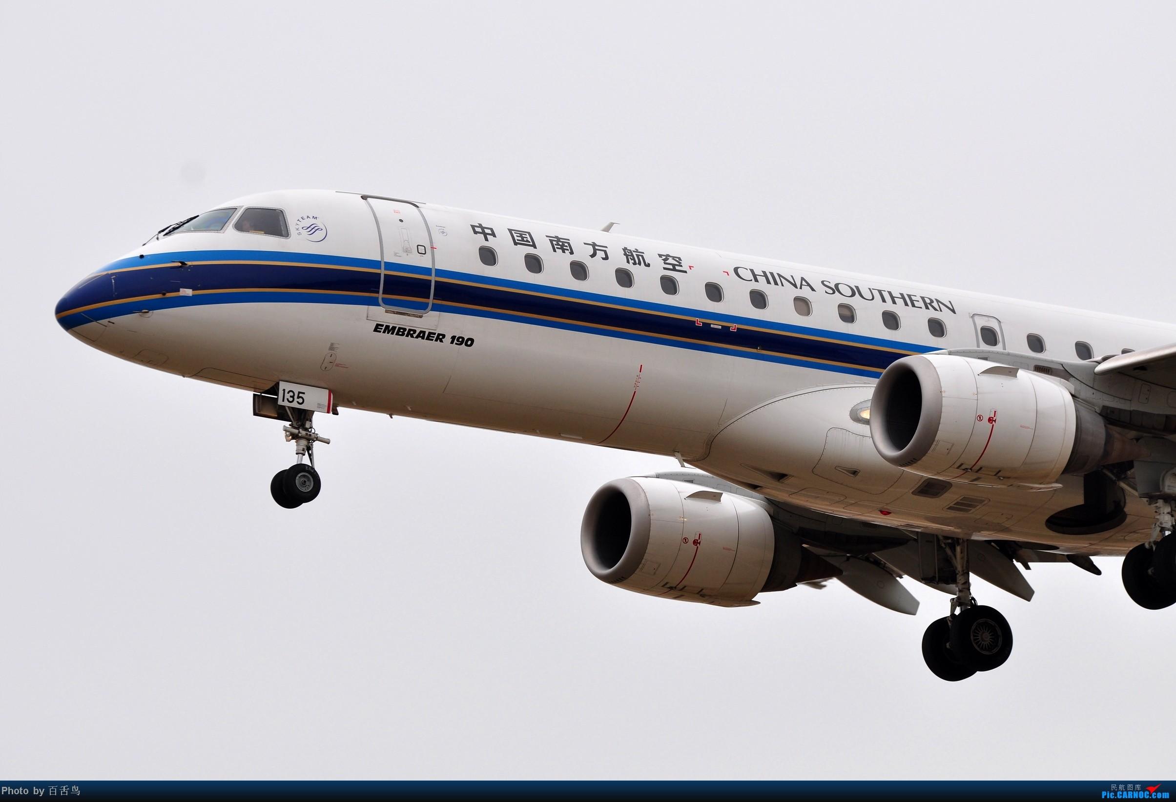 Re:[原创]【白云拍机】追南航773未果,东跑随手拍 EMBRAER E-190 B-3135 中国广州白云机场