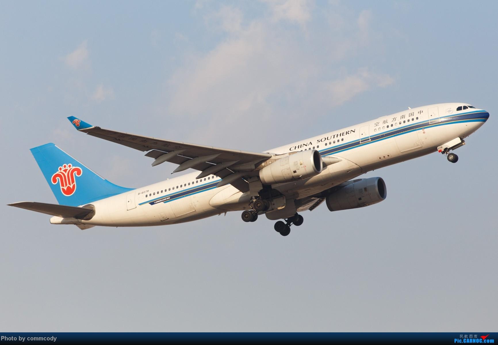 [原创]3月6日南航a332 b-6078 tsn本场训练 airbus a330-200 b-6078图片