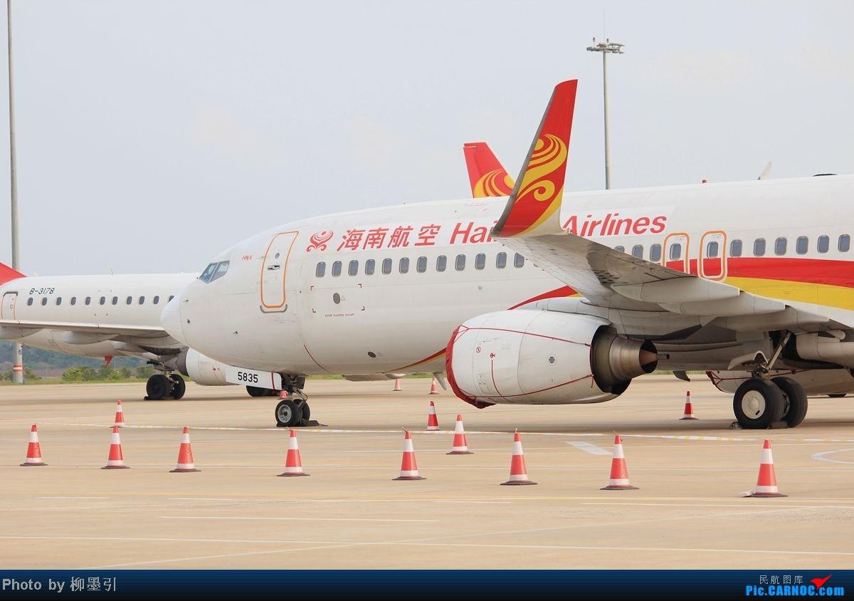 Re:[原创]【海南飞友会】新加坡→海口,捷星亚洲3K95~简短小游记~半年一次的回国飞行~~惊喜的碰到SQ两架白猩猩~~他们说标题一定要长!!! BOEING 737-800 B-5835 中国海口美兰机场