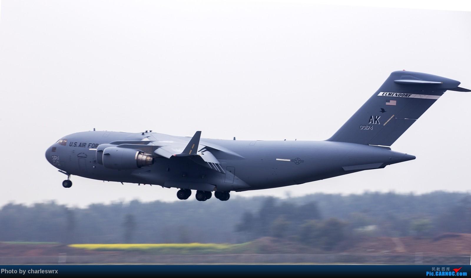 [原创]美国空军c17运输机造访成都