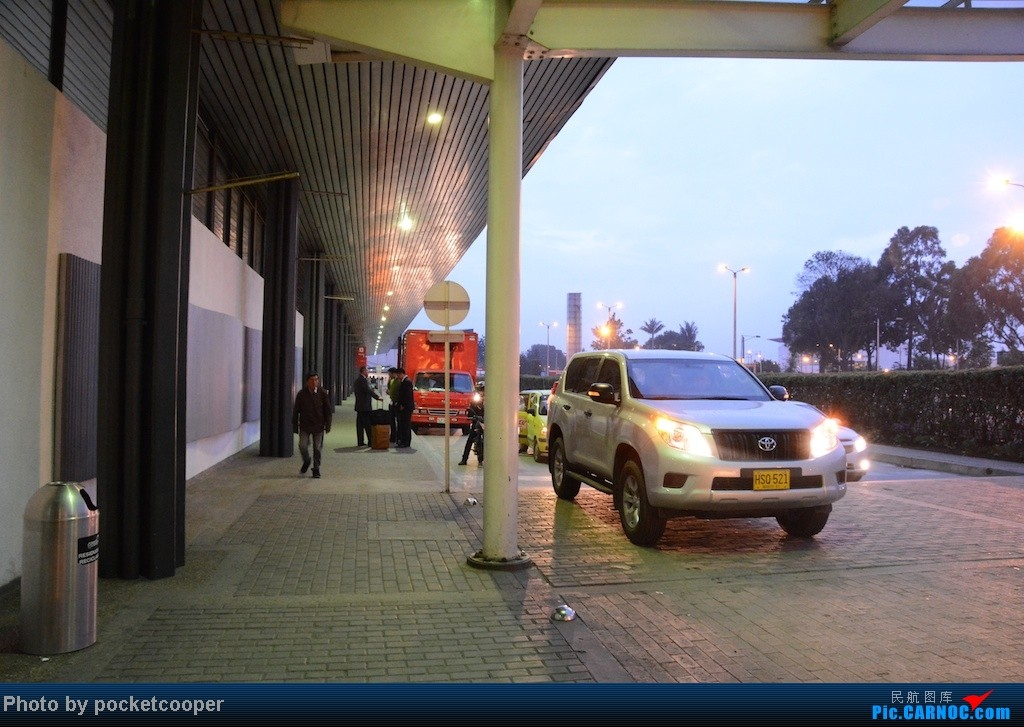 Re:【日出列传】[Magical Realism II] Avianca 哥伦比亚国内线三段 应广大听众要求开风土人情    哥伦比亚波哥大机场