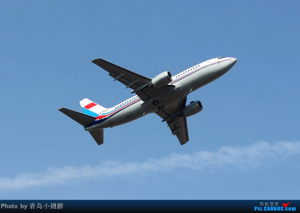 Re:[原创]米军E4B空中指挥中心和两架兔航 BOEING 737-700 B-4020 中国青岛流亭机场