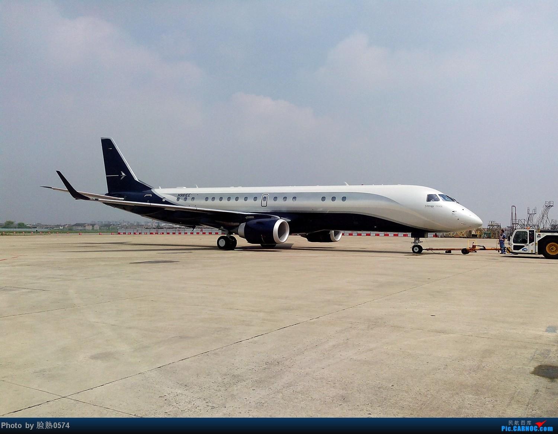 [原创]传说中的世袭1000公务机 LINEAGE 1000 N981EE 中国宁波栎社机场