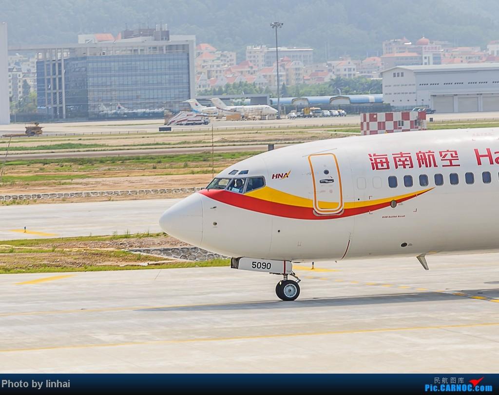 Re:[原创]SZX伪内场大头照,喜获机长挥手! BOEING 737-800 B-5090 中国深圳宝安机场