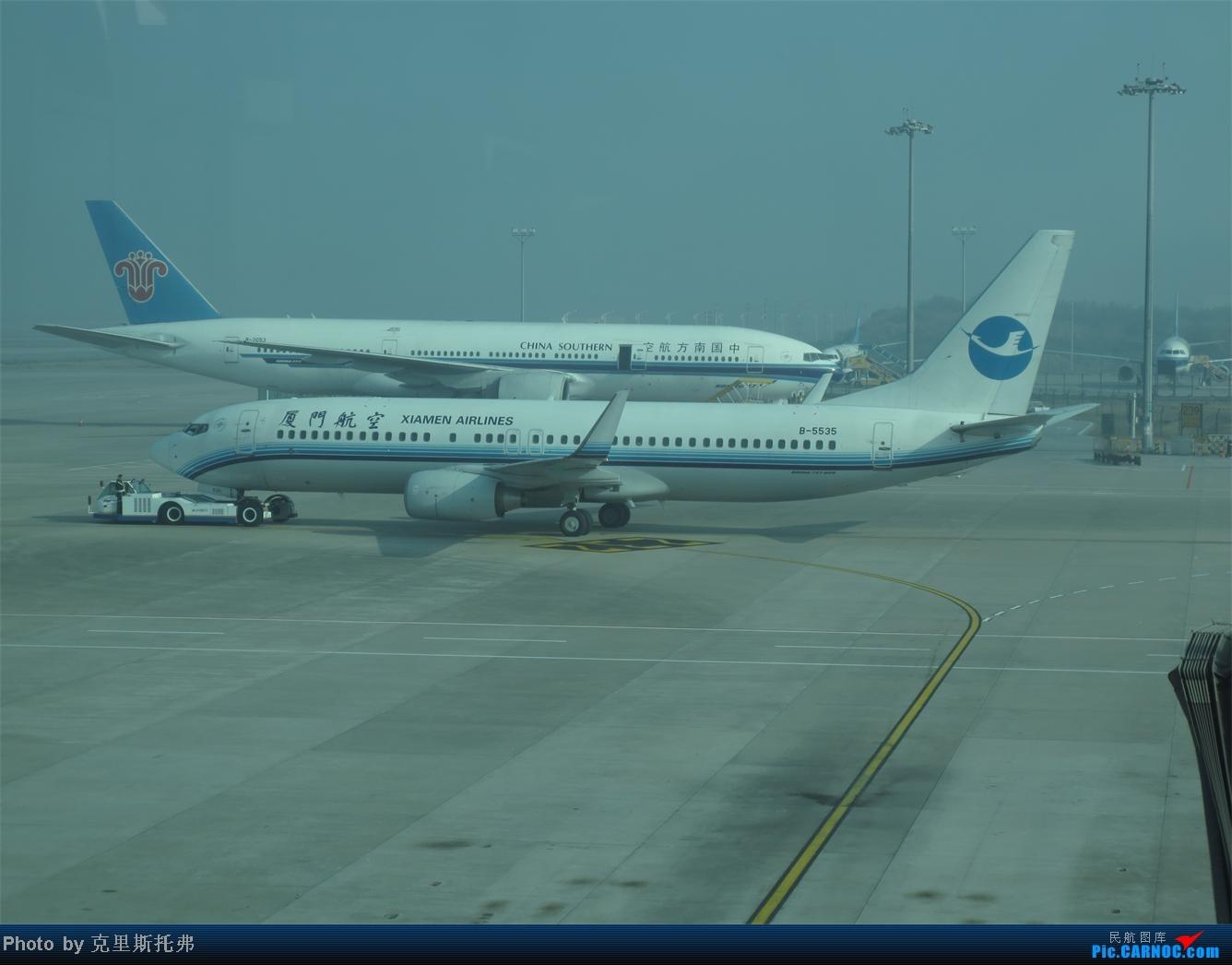 Re:[原创]广州-无锡游记(1)(新手) BOEING 737-800 B-5535 中国广州白云机场