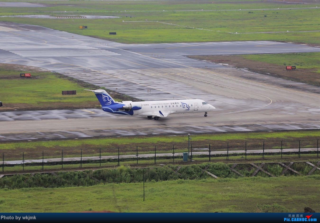 Re:[原创]在CKG拍机发现一个不明的航空公司 BOMBARDIER (CANADAIR) CRJ-200 B-3565 中国重庆江北机场