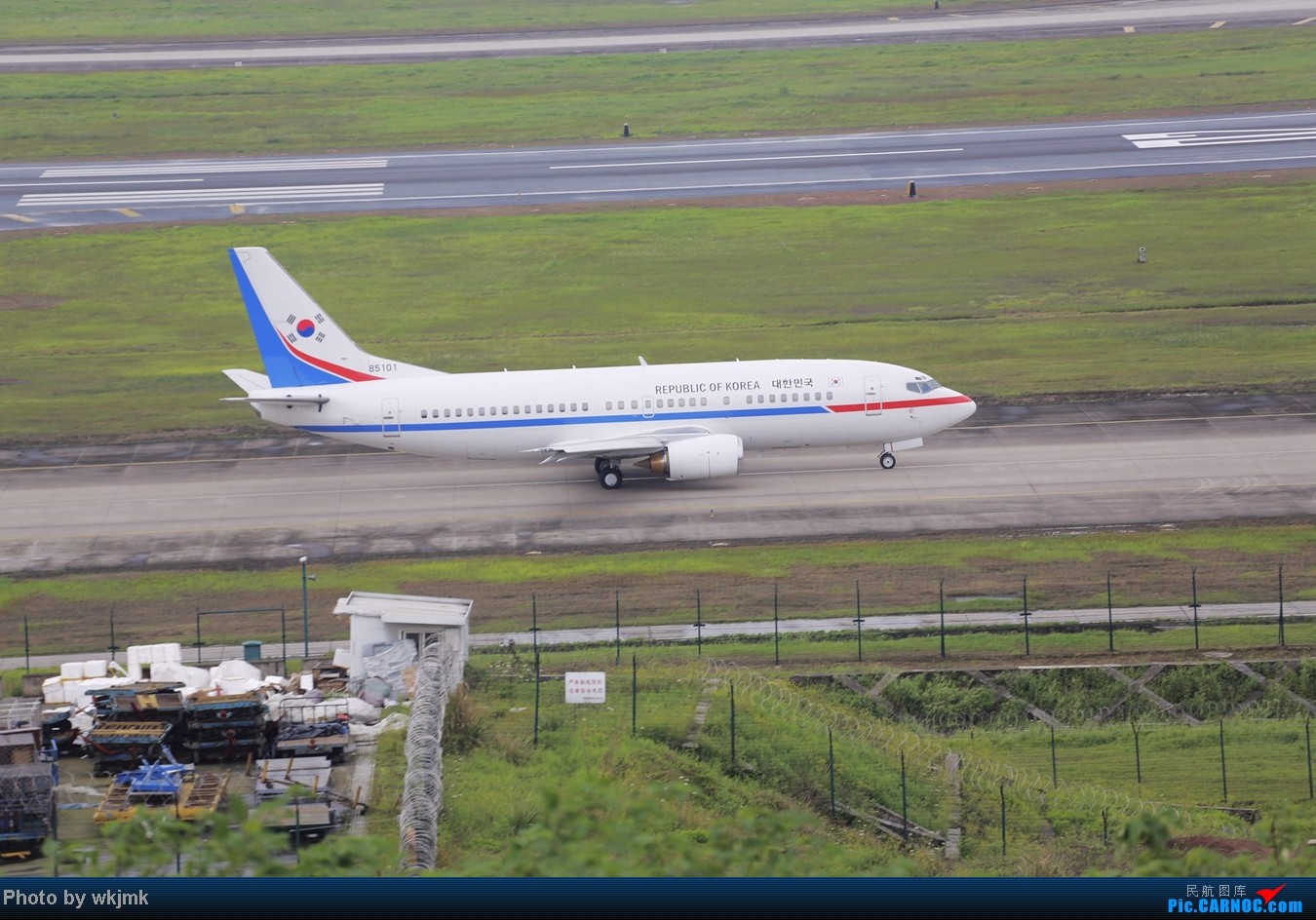 Re:在CKG拍机发现一个不明的航空公司 UNKOWN 85101 中国重庆江北机场