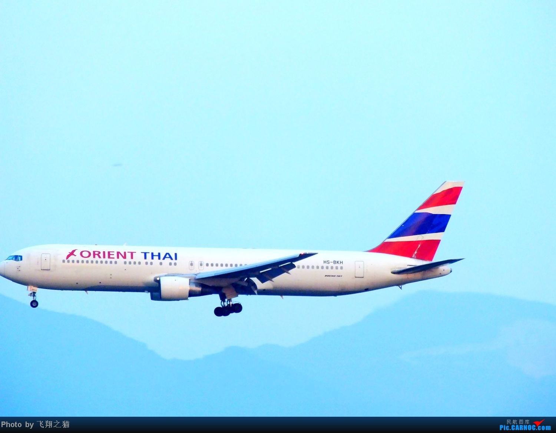 Re:[原创]CKG拍机(无敌的天气,无敌的光线。华航彩绘18355,常规机型若干) BOEING 767-300 HS-BKH 重庆江北国际机场