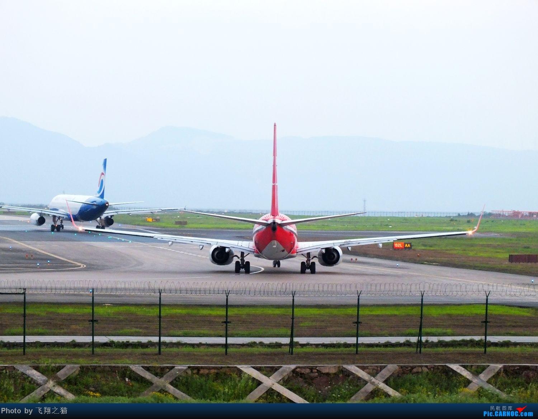 Re:[原创]CKG拍机(无敌的天气,无敌的光线。华航彩绘18355,常规机型若干) BOEING 737-800 B-5368 重庆江北国际机场