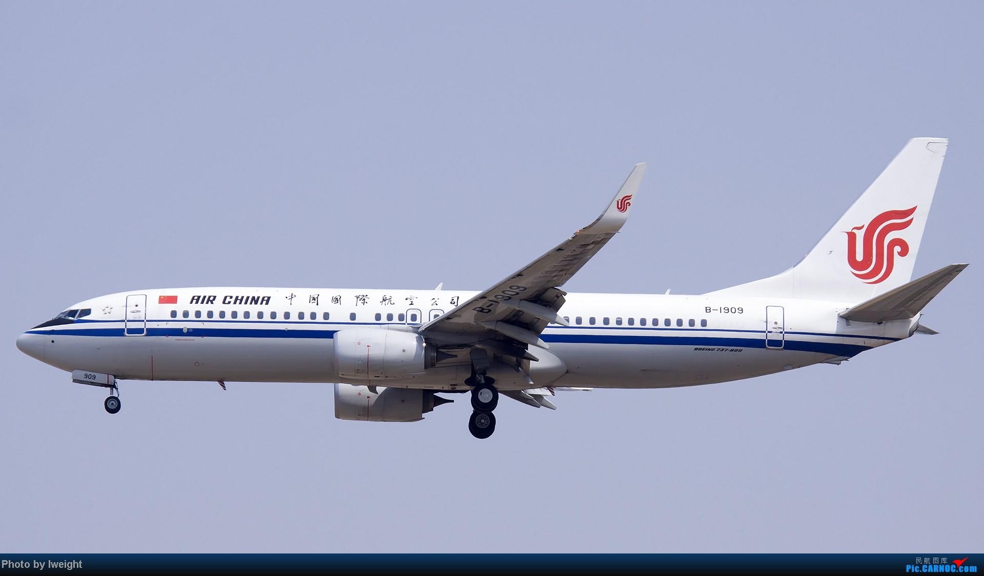 Re:[原创]错过了卡航的巴塞罗那号,只有这些大路货了,泪奔啊 BOEING 737-800 B-1909 中国北京首都机场